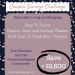 easy money saving plan. coupon savings challenge