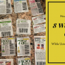 lazy couponing. easy couponing. quick couponing